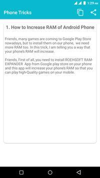 Phone Tricks screenshot 4