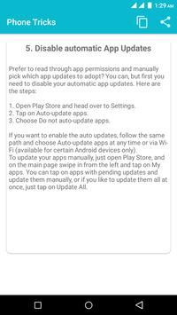 Phone Tricks screenshot 1
