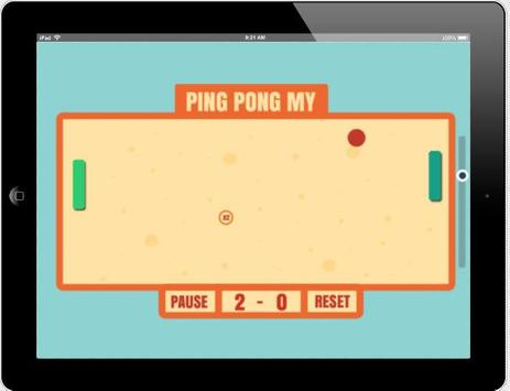 Ping Pong My apk screenshot