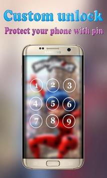🐞 Lock Screen ladybug poster