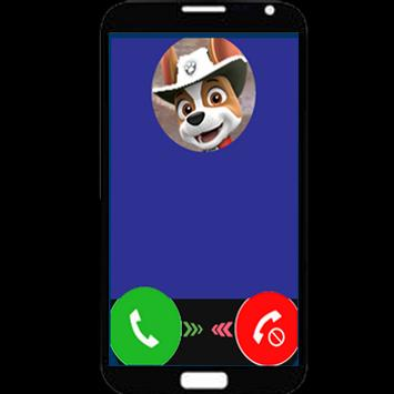 Fake call from Paw Rocky poster