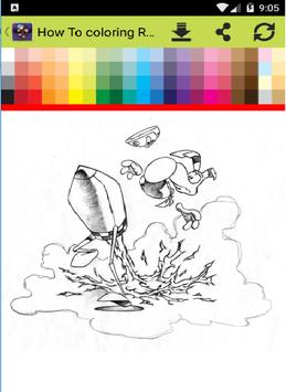 How To Coloring Rayman screenshot 1