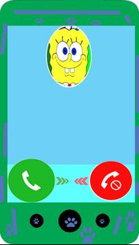 Fake call from Sponge BoB screenshot 2