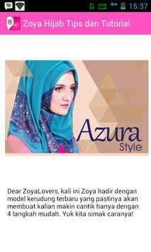ZOYA - Hijab Tips & Tutorial screenshot 3