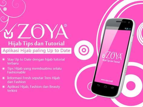 ZOYA - Hijab Tips & Tutorial poster