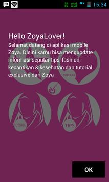 ZOYA - Hijab Tips & Tutorial screenshot 1