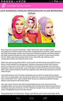 ZOYA - Hijab Tips & Tutorial screenshot 8