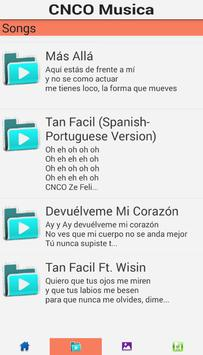 CNCO SONGS poster