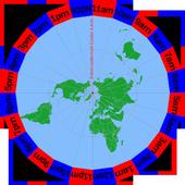 Flat Earth Clock icon