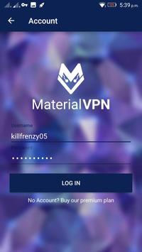 Material VPN Lite v1.0 poster