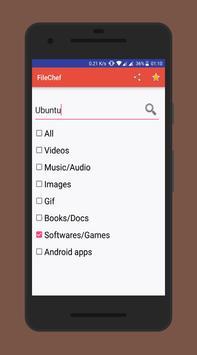 FileChef-OpenDirectory Finder apk screenshot