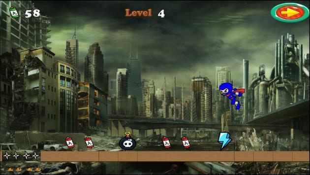 Ninja Run Free apk screenshot