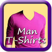 Man T-Shirt Photo icon