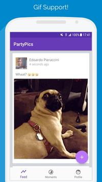PartyPics - Share Event Photos with Attendees (Unreleased) poster