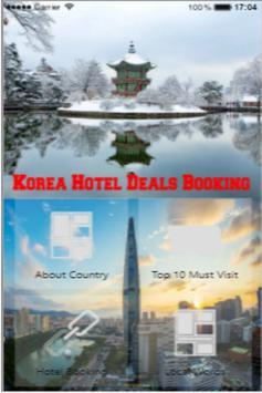 Korea Hotel Deals Booking poster
