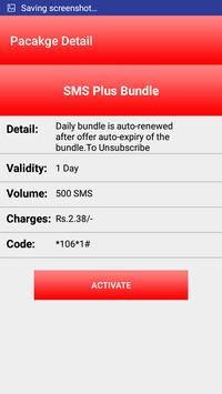 All Mobilink Packages screenshot 2