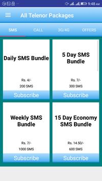 All Telenor Packages poster