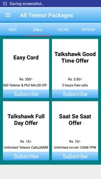 All Telenor Packages screenshot 1