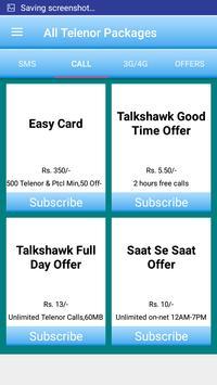 All Telenor Packages screenshot 1