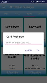 All Telenor Packages screenshot 5