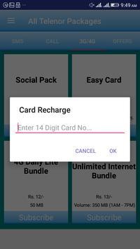 All Telenor Packages screenshot 5