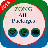 All Zong Packages 2018 icon
