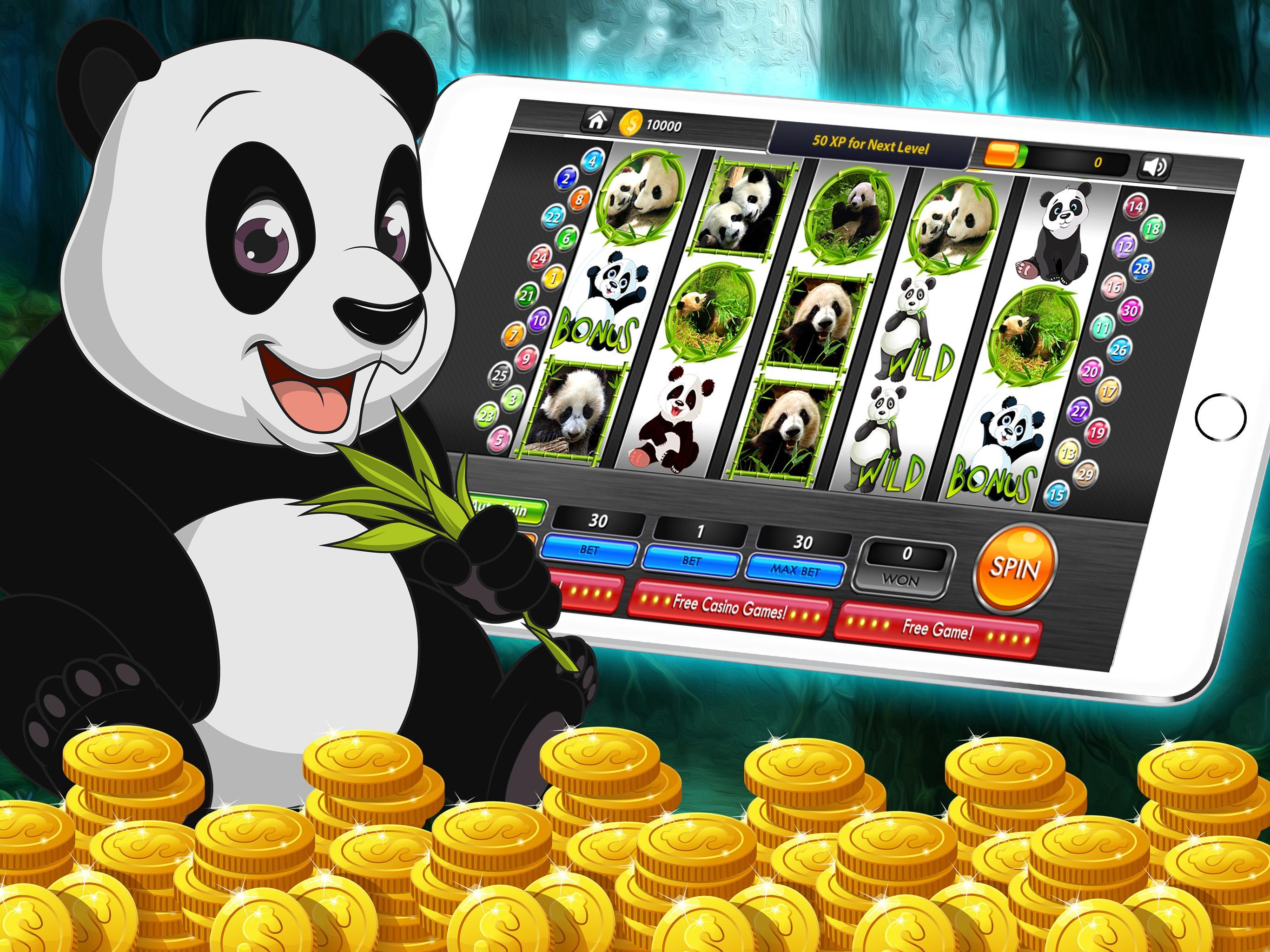Wild panda casino slot video