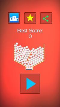 100 balls challenge + Infinity poster