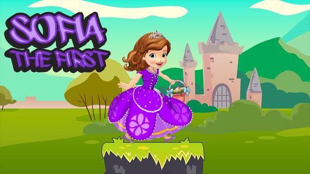 Adventure Sofia Princess Runner - First Game poster