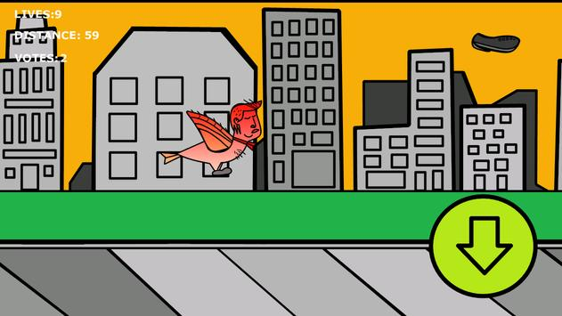 Flying Donald Trump apk screenshot