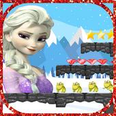 Princess Elsa Run icon