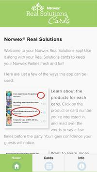 Norwex Real Solutions Cards Australia poster