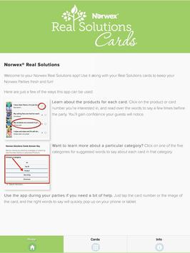 Norwex Real Solutions Cards Australia apk screenshot