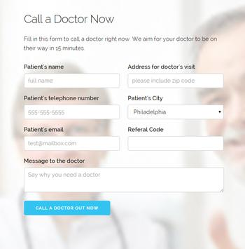 KallDoc. A doctor in seconds. poster