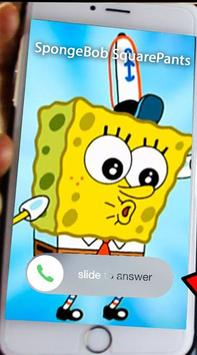 Call from Sponge.b0b the Simulator 2018 apk screenshot