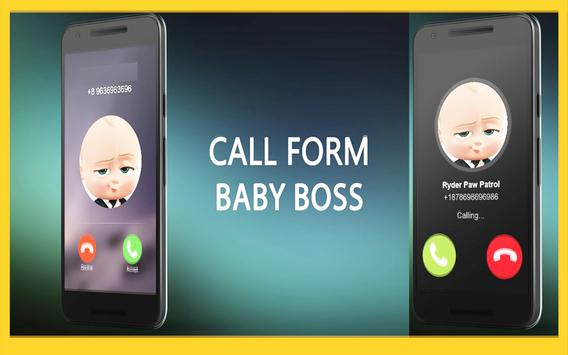 Call From Baby Boss Free: 2018 poster