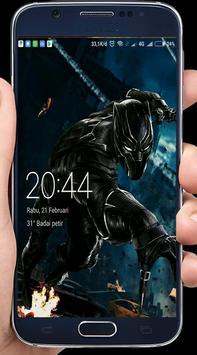 Black Panther Wallpaper cool HD apk screenshot