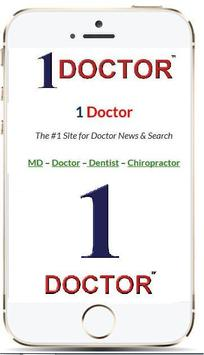 1 DOCTOR poster