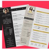 Resume Curriculum Vitae CV icon