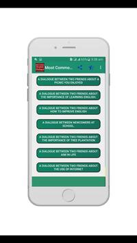 Most Common English Dialogue poster