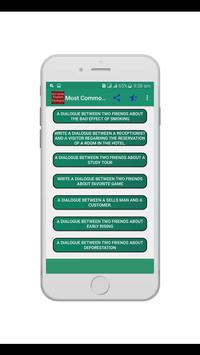 Most Common English Dialogue screenshot 1