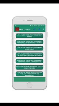 Most Common English Dialogue screenshot 2