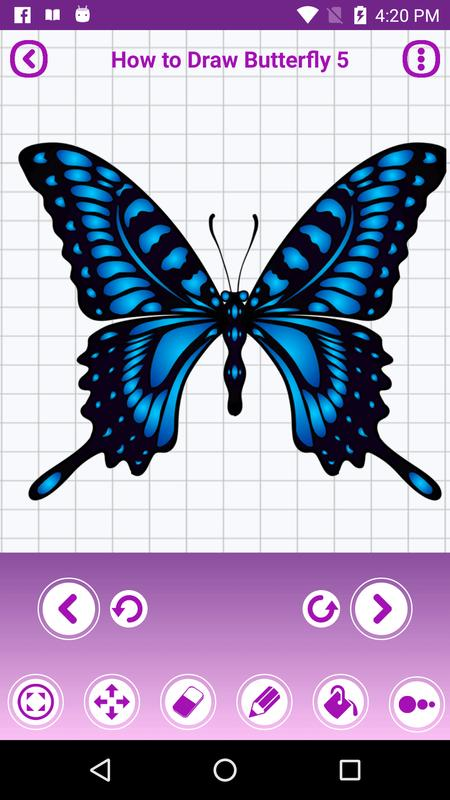 How To Draw Butterfly Tattoo For Android Apk Download