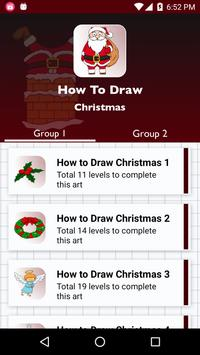 How to draw Christmas 2017 poster