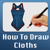 How to draw Cloths icon