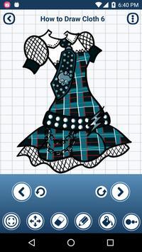 How to draw Cloths apk screenshot