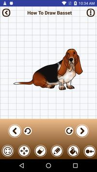 How to draw dogs step by step poster