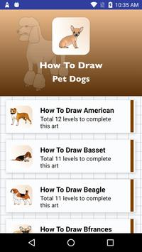 How to draw dogs step by step apk screenshot