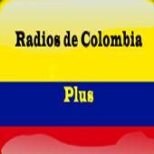 RadiosdeColombiaplus icon