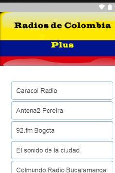 RadiosdeColombiaplus poster
